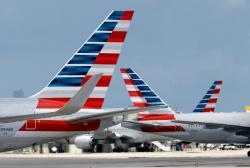 American Airlines' planes.