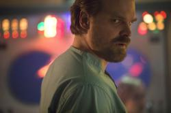 """Netflix shows David Harbour in a scene from """"Stranger Things 2."""""""