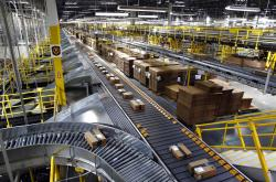 Amazon fulfillment center in Baltimore.