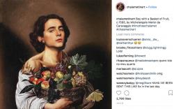 Check Out This Instagram that Photoshops Timothee Chalamet into Famous Art