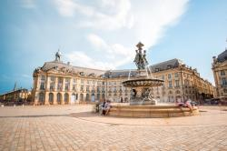 La Bourse Square, Bordeaux, France.