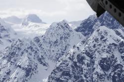 Kahiltna Glacier near Denali.