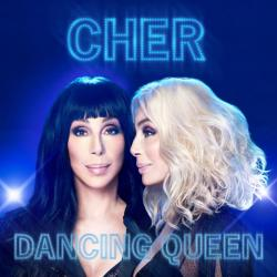 "The cover of Cher's ""Dancing Queen"" album."