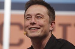 Electric car maker Tesla's CEO Elon Musk