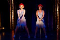 "Jessica Wockenfuss and Michelle Alves in ""Chicago"" at Theatre By The Sea thru September 9. Photos by Steven Richard Photography."