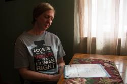 """It shouldn't have happened,"" says Nicole Smith-Holt of Richfield, Minn., looking at the death certificate of her son Alec Raeshawn Smith."