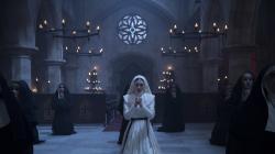 "Sandra Teles in a scene from ""The Nun."""