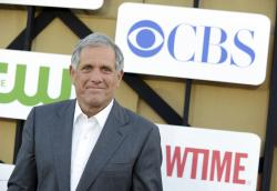 Les Moonves arrives at the CBS, CW and Showtime TCA party at The Beverly Hilton in Beverly Hills, Calif.