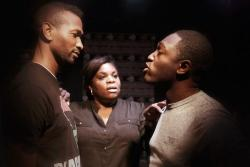"A scene from ""We Are Proud To Present,"" at the Epic Theatre Company through September 22."