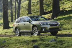 This undated photo provided by Subaru of America shows the 2018 Subaru Outback, a vehicle that carries a zero percent financing offer in September