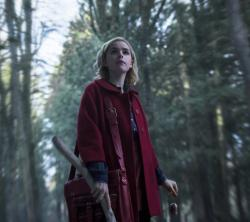 "Kiernan Shipka in Netflix's ""Chilling Adventures of Sabrina."""