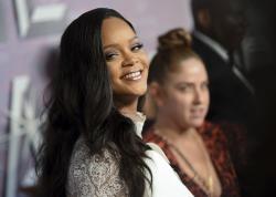 Rihanna attends the 4th annual Diamond Ball at Cipriani Wall Street.
