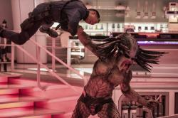 "This image released by 20th Century Fox shows a scene from ""The Predator."""