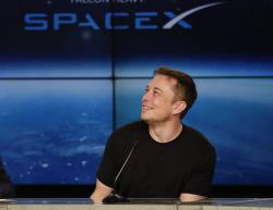 Elon Musk, founder, CEO, and lead designer of SpaceX.