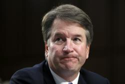 In this Sept. 6, 2018 photo, Supreme Court nominee Brett Kavanaugh.