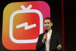 Kevin Systrom, CEO and co-founder of Instagram