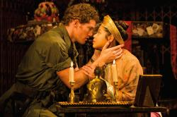 "Anthony Festa and Emily Bautista in the national tour of ""Miss Saigon."""