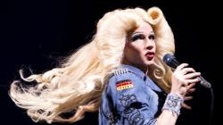 John Cameron Mitchell as Hedwig.