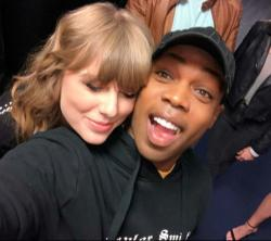 Todrick Hall with Taylor Swift.