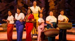 """A scene from """"The Color Purple"""" at the Paper Mill Playhouse through October 21."""