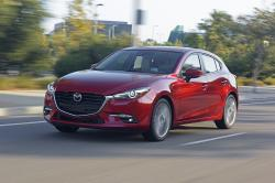 This undated photo provided by Mazda shows the 2018 Mazda 3