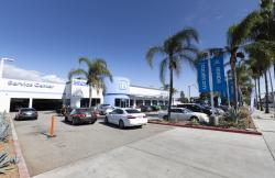 This undated photo provided by Edmunds shows Culver City Honda dealership in Culver City, Calif.