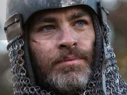 "Chris Pine in ""Outlaw King."""