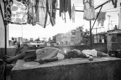 "A scene from the film ""Roma,"" by filmmaker Alfonso Cuaron."