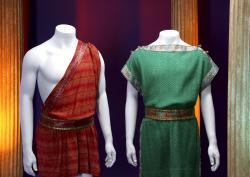 "Costumes worn by characters Captain Kirk and Spock from the ""Star Trek"" TV series."