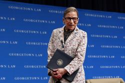 AP Photo/Jacquelyn MartinSupreme Court Justice Ruth Bader Ginsburg