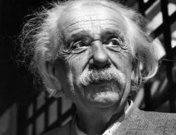 This June, 1954, file photo shows renowned physicist Albert Einstein in Princeton, N.J.