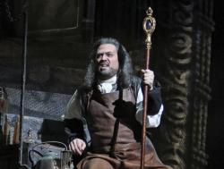 "David Daniels performs as Prospero during the final dress rehearsal of ""The Enchanted Island,"" at the Metropolitan Opera in New York."