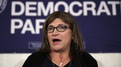 Democratic gubernatorial challenger Christine Hallquist