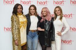 In this Wednesday, Nov. 7, 2018 file photo, Spice Girls from left, Melanie Brown,Melanie Chisholm, Emma Bunton and Geri Horner.