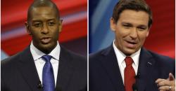 Tallahassee Mayor Andrew Gillum and Republican former U.S. Rep. Ron DeSantis.
