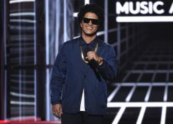 In this May 20, 2018, file photo, Bruno Mars.