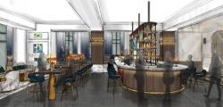 Saint Kate The Arts Hotel bar rendering; to open spring 2019.
