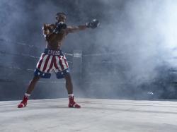 """Michael B. Jordan in a scene from """"Creed II."""""""