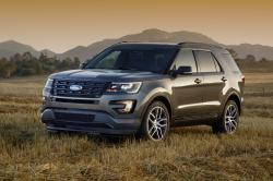 This undated photo provided by Ford shows the three-row 2016 Ford Explorer