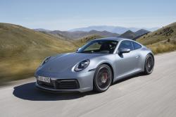 The undated photo provided by Porsche on Nov. 28, 2018 shows the new Porsche 911 Carrera 4S. Porsche unveiled the eighth generation of his emblematic sports car in Los Angeles