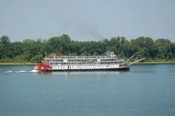Delta Queen Steamboat voyage in 2008.