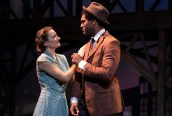 "Marge Dunn and Stewart Evan Smith in ""It's a Wonderful Life"" at the Greater Boston Stage Company through December 23."