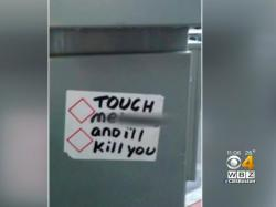 Hate stickers with threatening messages appeared in Attleboro, MA
