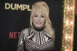 "Dolly Parton attends the world premiere of ""Dumplin'"" at TCL Chinese Theatre."