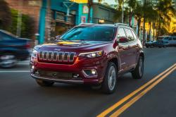 This photo provided by Edmunds shows the 2019 Jeep Cherokee
