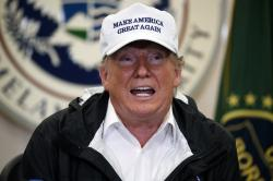President Donald Trump speaks at a roundtable on immigration and border security at U.S. Border Patrol McAllen Station, during a visit to the southern border, Thursday, Jan. 10, 2019, in McAllen, Texas