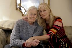 British actresses Vanessa Redgrave and her daughter Joely Richardson