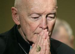 In this Nov. 14, 2011, file photo, then Cardinal Theodore McCarrick.