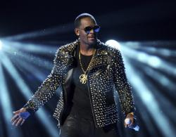 In this June 30, 2013 file photo, R. Kelly performs at the BET Awards in Los Angeles.