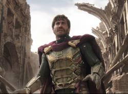 """Jake Gyllenhaal in the trailer for """"Spider-Man: Far from Home."""""""